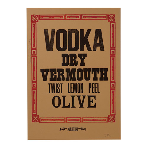 VODKA DRY VERMOUTH