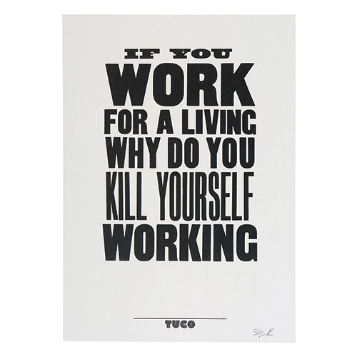 IF YOU WORK FOR A LIVIN