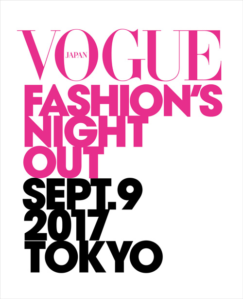 【FASHION'S NIGHT OUT】